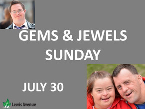 Ministry Highlight Sunday:  Gems & Jewels