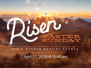 Join us this Easter!