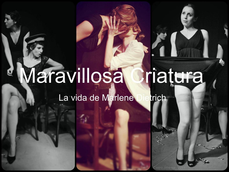MARAVILLOSA CRIATURA