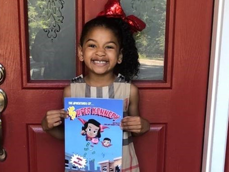 6-Year-Old Fredericksburg Author Reaches Major Milestone and Garners National Attention with Debut B