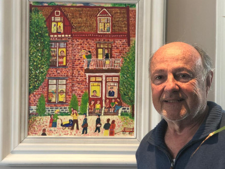71-Year-Old Retiree Discovers Passion for Painting, Helps Preserve Montreal's History through Ar