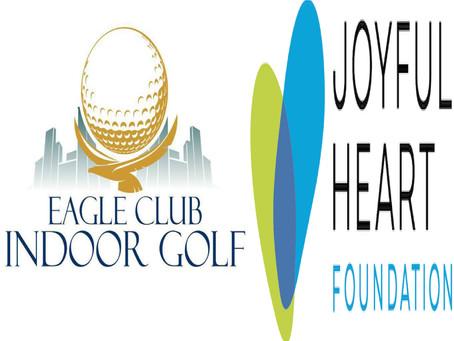 Eagle Club Indoor Golf Teams Up With Actress Mariska Hargitay's Joyful Heart Foundation To Help End