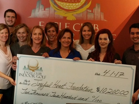 Eagle Club Indoor Golf Raises More Than $10K For Actress Mariska Hargitay's Joyful Heart Foundation