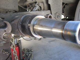 Damaged-spindle-repaired