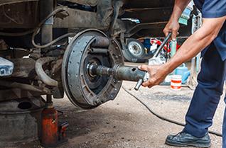 Brake and spindle repair