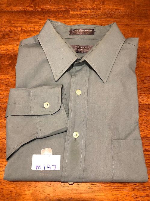 Men's long sleeve Shirt - 17 - 34/35
