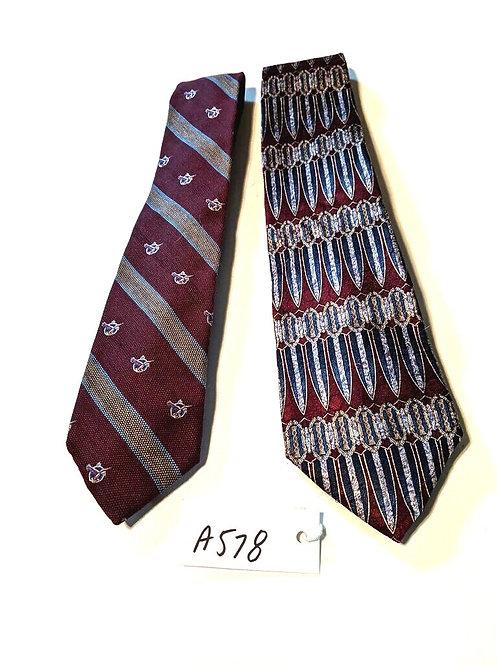 Men's Neckties-set of 2