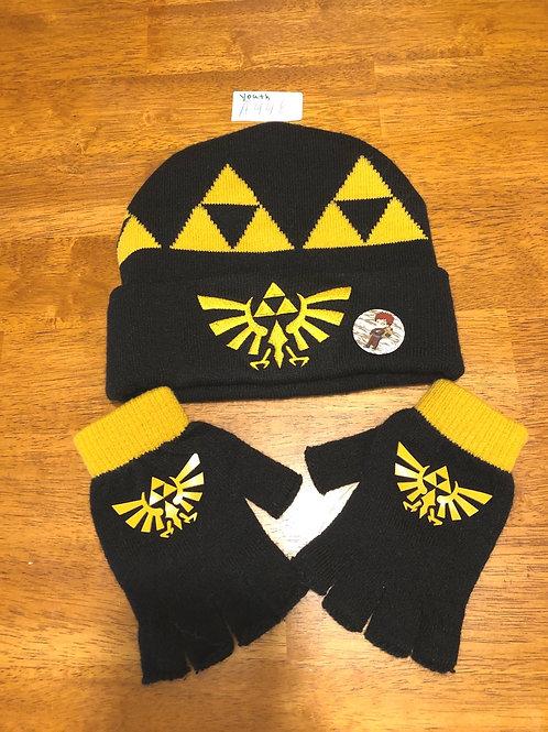 Youth - hat & gloves set