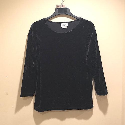 Women's crushed velvet top