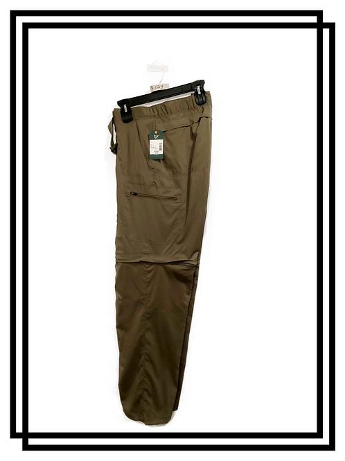 Men's Convertible pants to shorts
