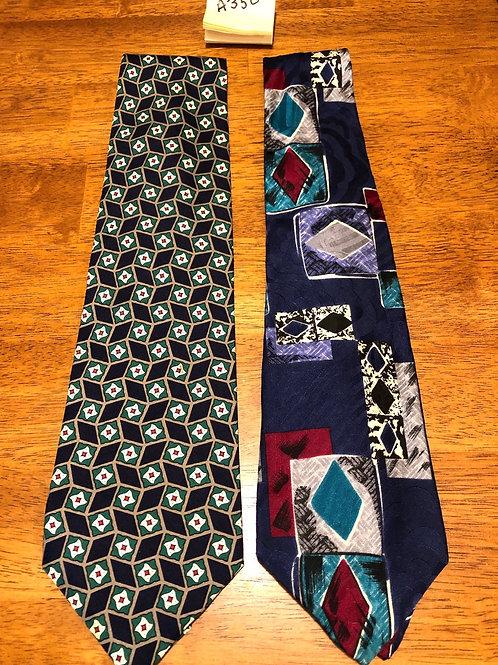 Men's Neck Ties - 2 pack