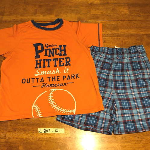 Youth Pajama short set