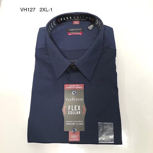 Men's Shirt - VanHeusen Slim Fit, flex collar 18; 34/35