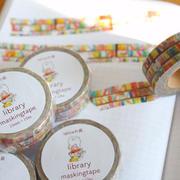 library maskingtape