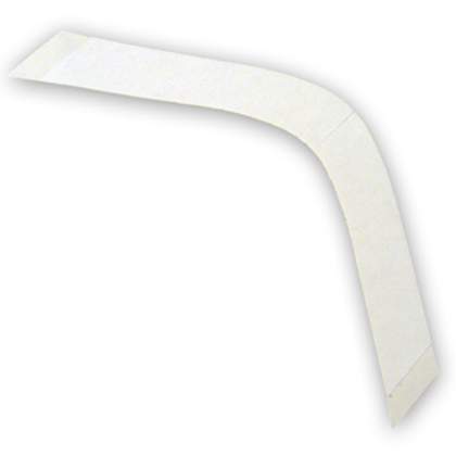 3 M Contoured large cut, transparent tape strips