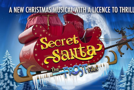 Secret Santa The Frost Flies Poster 2018