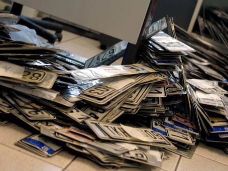 «Ψηφιακή» φέτος η κατάθεση πινακίδων κυκλοφορίας