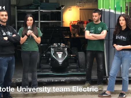 Ας γνωρίσουμε τους εκπρόσωπους του Α.Π.Θ. στο Formula Student