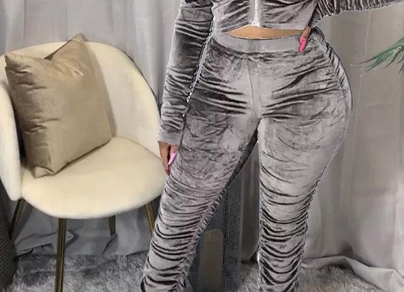 Velour Track Suit