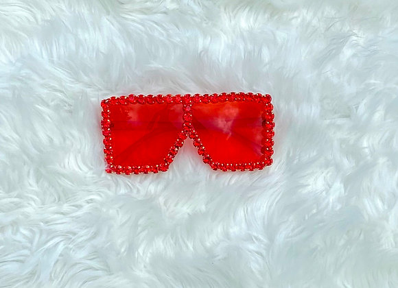 Blinged Out Trinndy Shades: Red