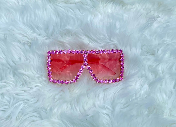 Blinged Out Trinndy Shades: Pink