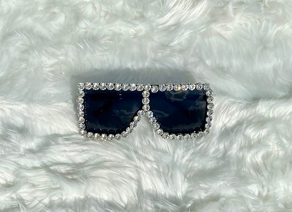 Blinged Out Trinndy Shades: Icey Black