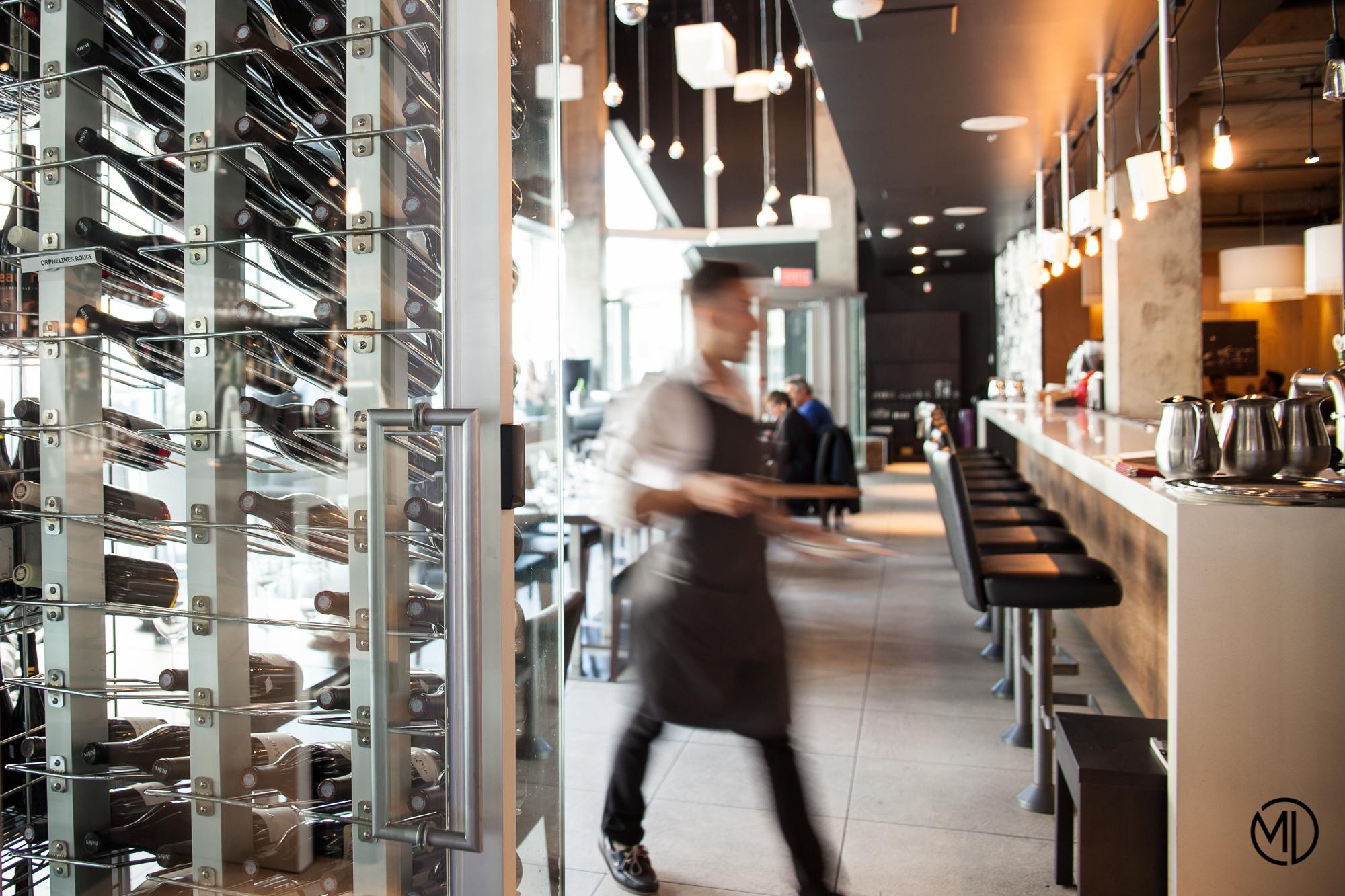 Accords Le bistro serveur Montréal