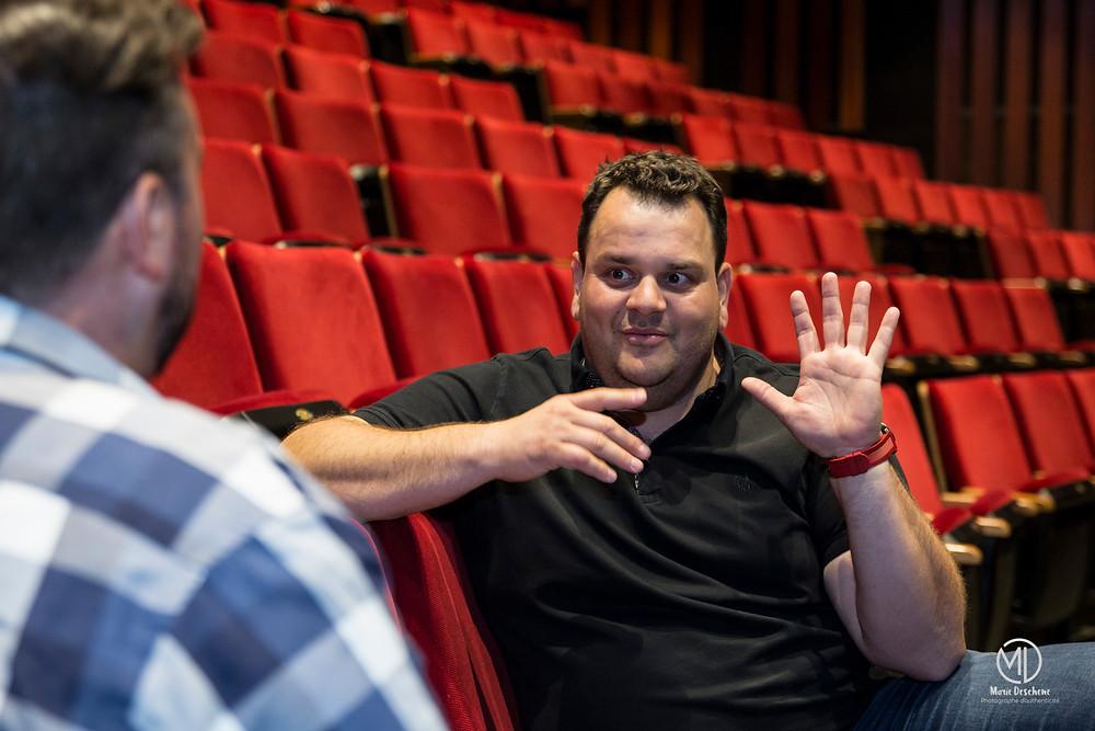 Entrevue Philippe Laprise Théâtre Desjardins Montréal 2018 Marie Deschene