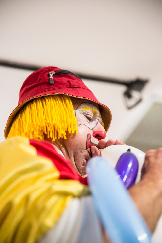 Photo clown anniversaire enfant Montréal Marie Deschene