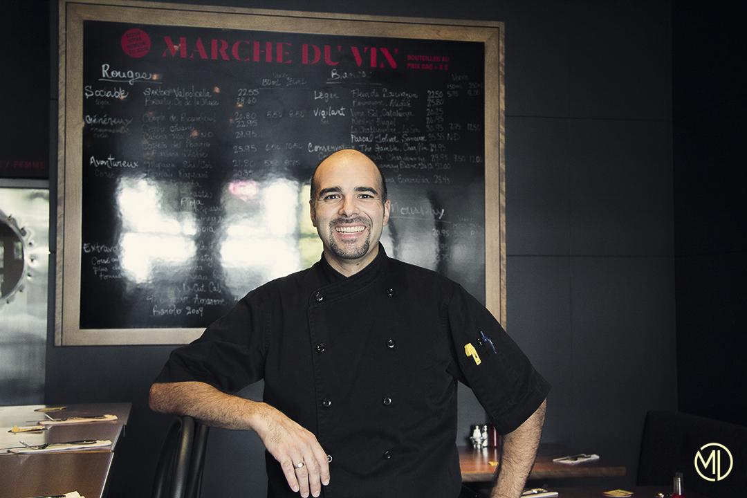 Chef restaurant Bolo Bolo Montréal