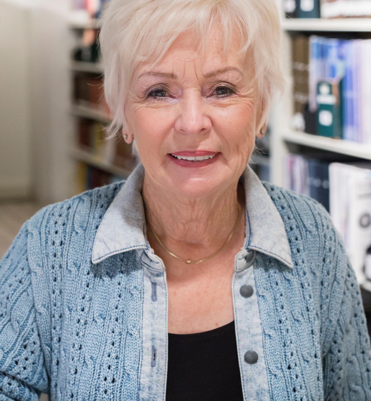 Portrait Yolande BAnQ Montréal