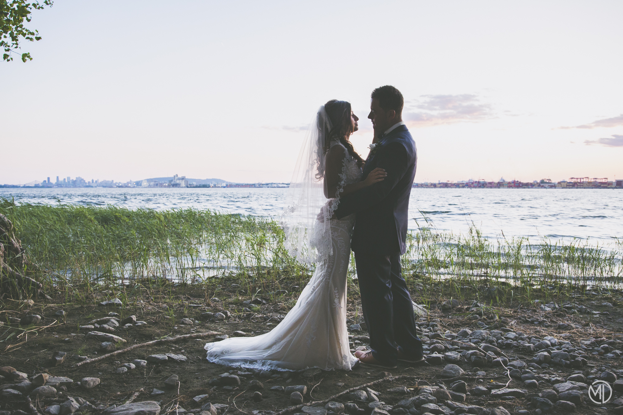 Photo mariage Navark Montréal soir