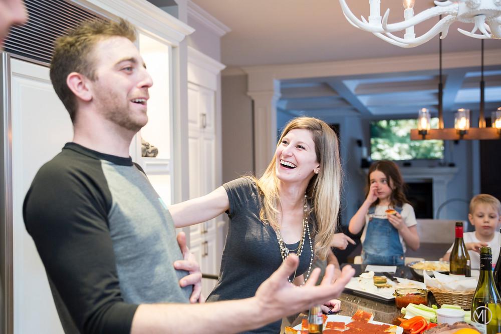 Photo moment en famille heureux Lorraine Rive-Nord de Montréal Marie Deschene
