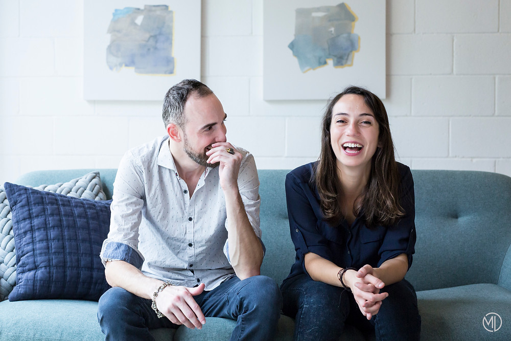 Photo portrait corporatif Pierrette & Paulette Montréal Marie Deschene