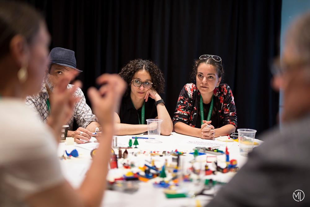 Activité Légos au FRDSIM de 2017 à Montréal Marie Deschene