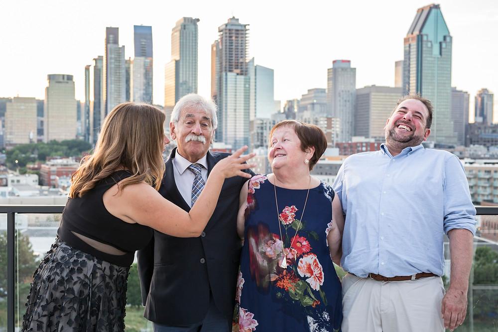 Photo anniversaire de mariage centre-ville Montréal Marie Deschene