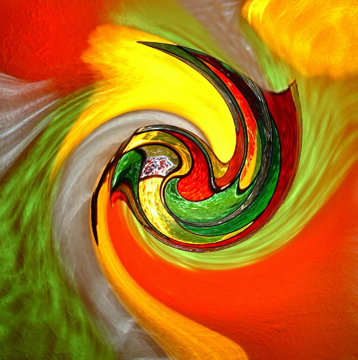 'Stained Glass Skew' by Paul Miller (9 marks)