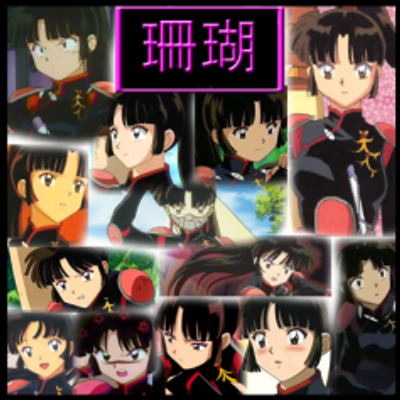inuyasha___sango_part2_collage_by_strawberry_of_love-d4azh30