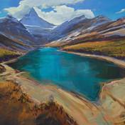 Larch Magic Under Assiniboine