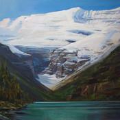 Victoria Glacier at Lake Louise