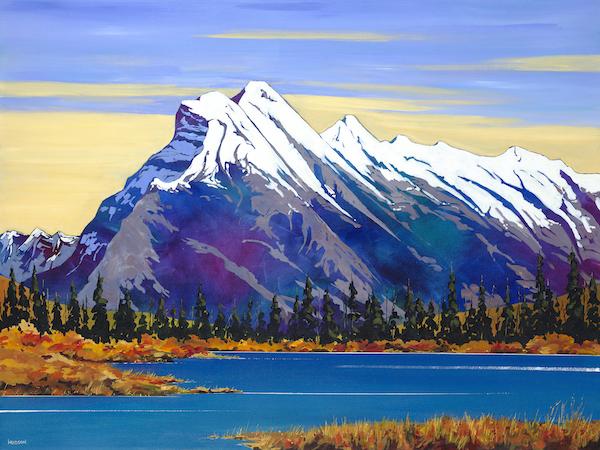 Mt. Rundle (Print)