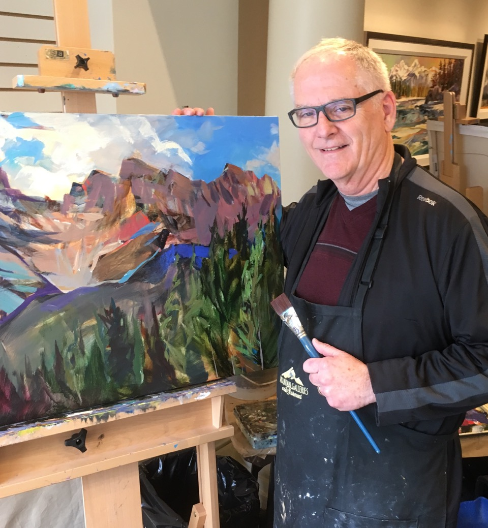 Artist Brent Laycock