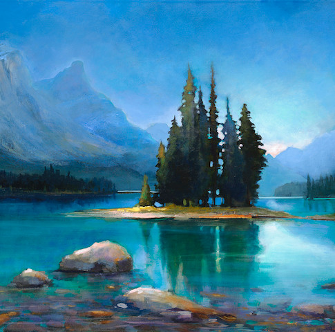 Maligne Lake & Spirit Island