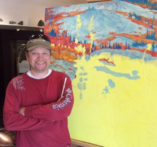 June Artist in Residence