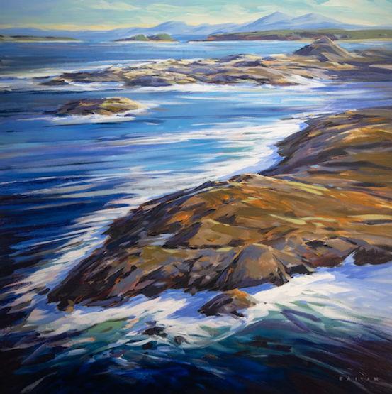 Multi colour Acrylic Painting
