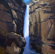 Johnston Canyon shadows
