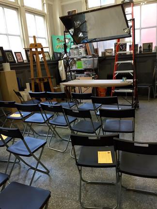 Artist Demonstration Class