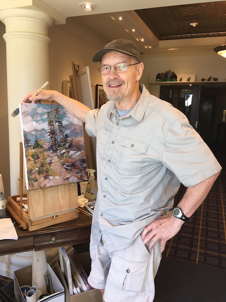 Artist Jim Vest
