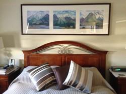Doris McCarthy Triptych Installed