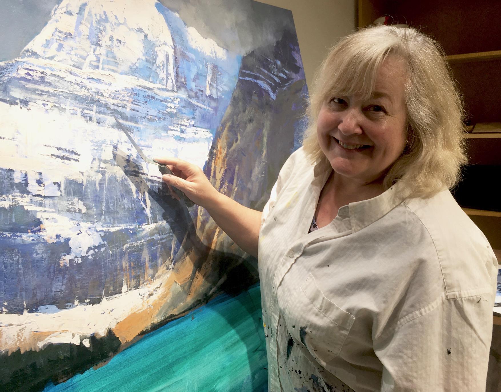 Artist Linda Wilder